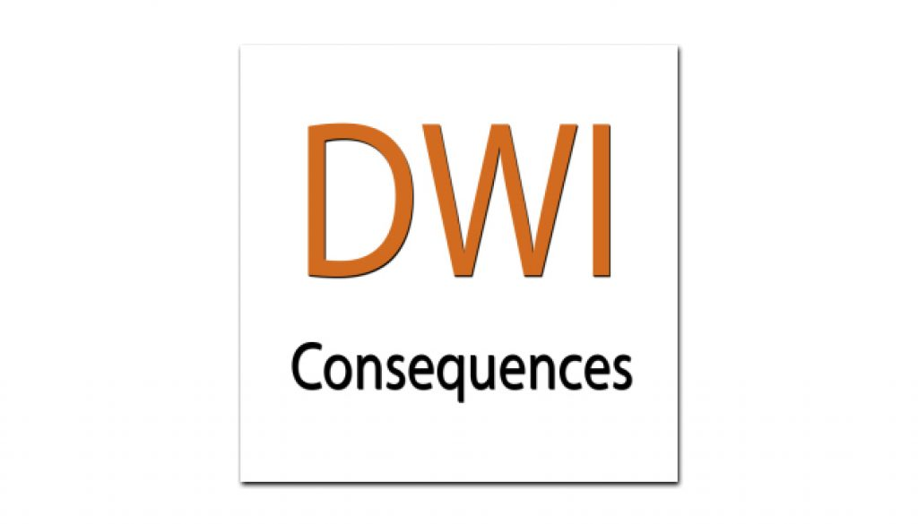 DWI - consequences